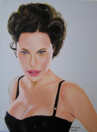 Angelina Jolie by jfm